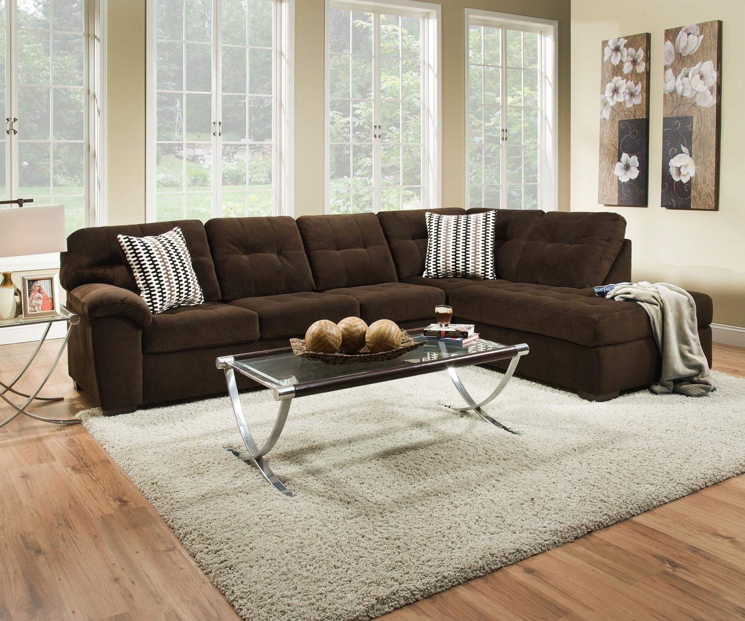 Furniture: Simmons Sectional For Comfortable Seating — Threestems Intended For Simmons Sectional Sofas (Image 2 of 20)