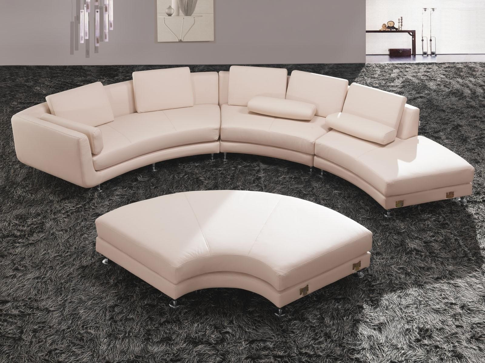 Furniture: Simple Decoration Curved Sectional Sofa Best Sofa Within Round Sectional Sofa (View 7 of 20)