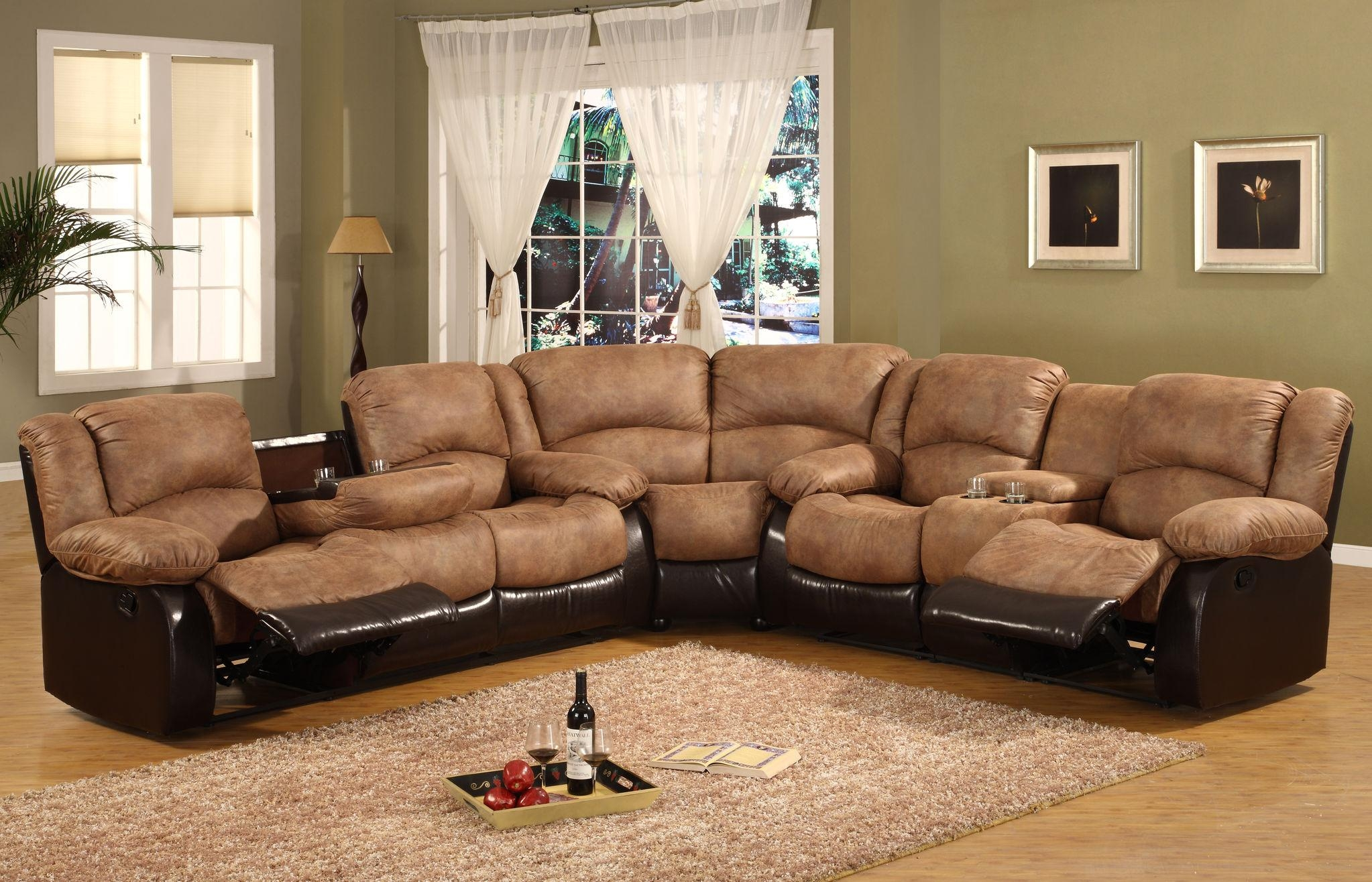 Furniture: Sleeper Sectional | Lazy Boy Sectionals | Reese Pertaining To Lazy Boy Leather Sectional (Image 15 of 20)