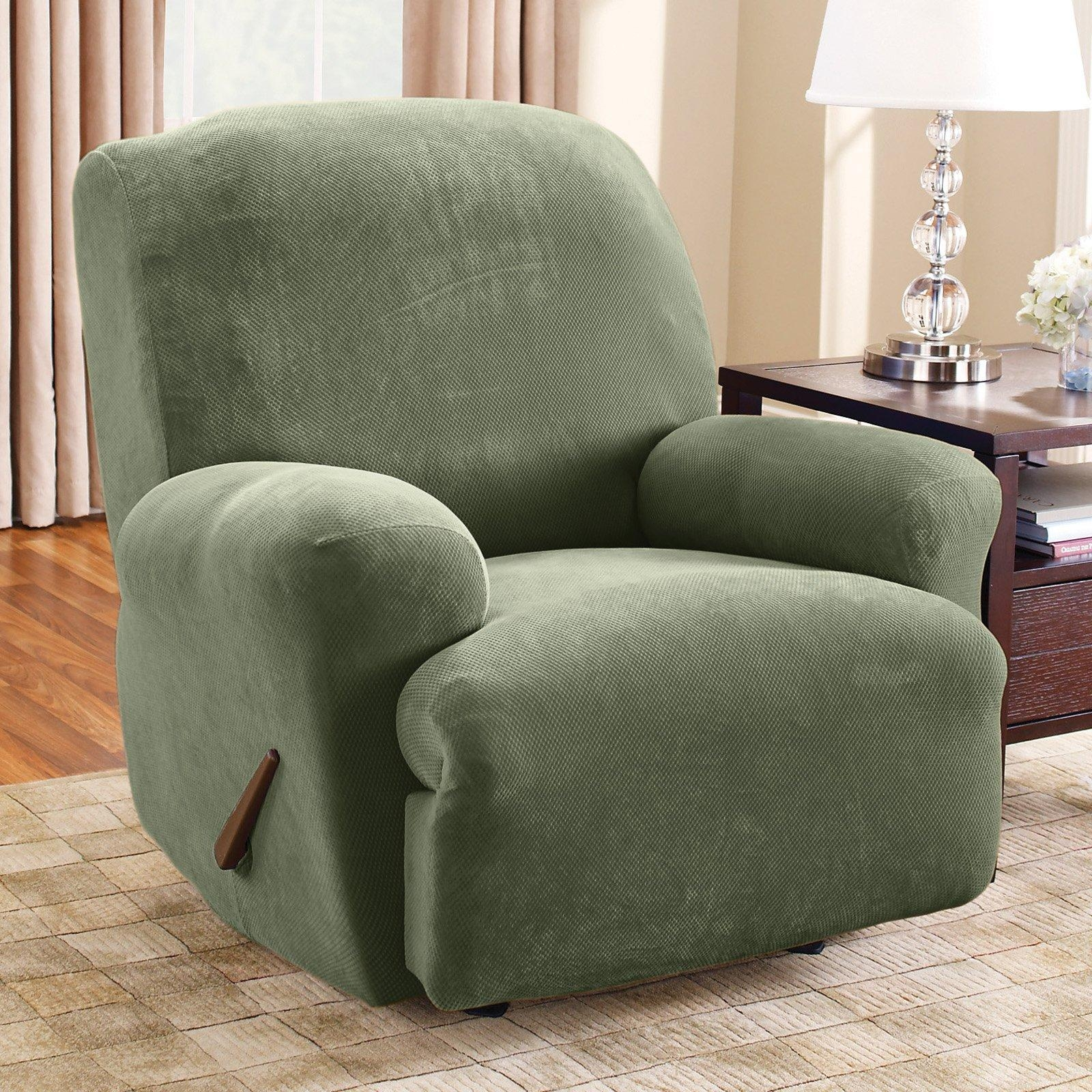 Furniture: Slip Covers For Reclining Sofas | Amazon Sofa Throughout Slipcover For Recliner Sofas (View 4 of 20)