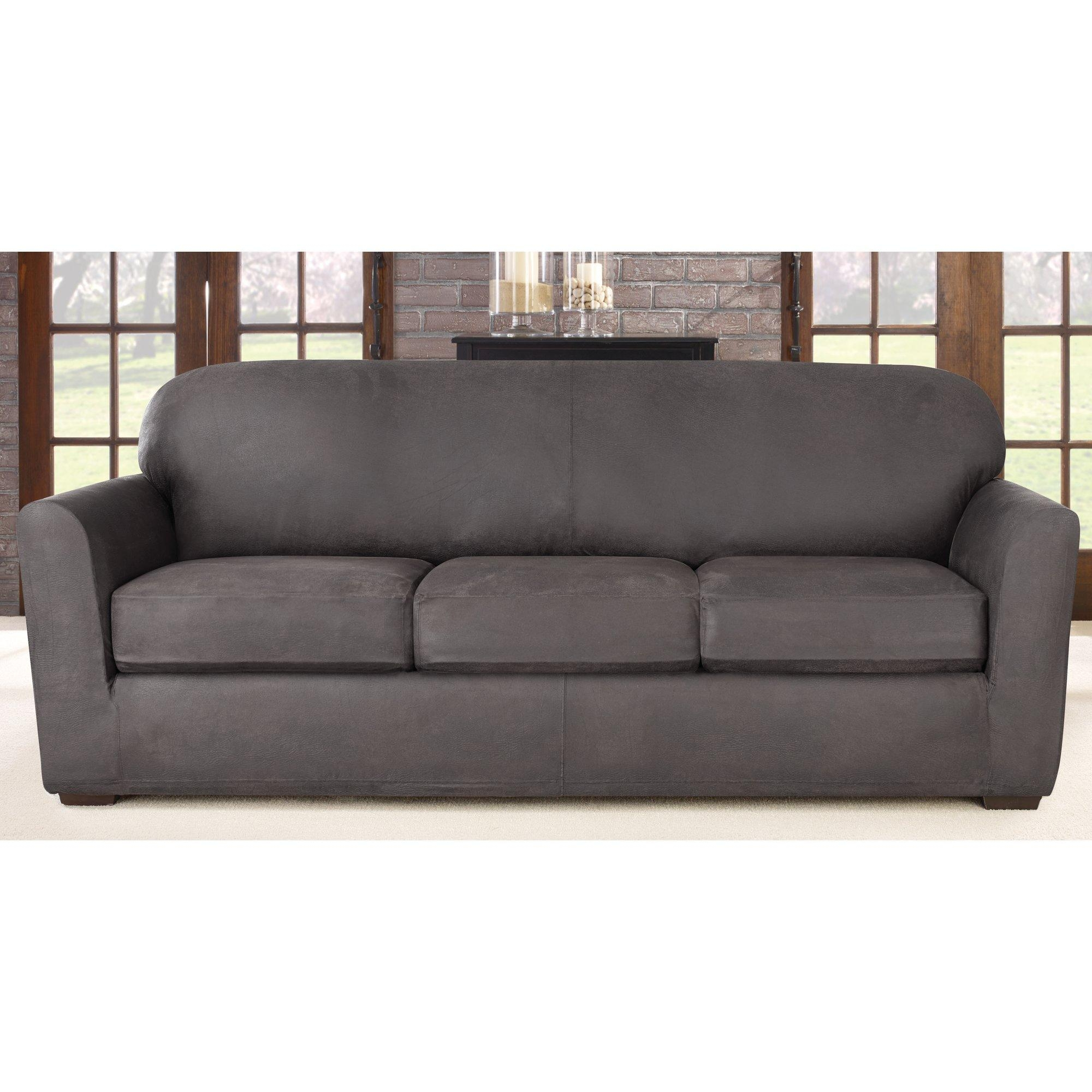 Furniture: Slipcover For Camelback Sofa | Linen Sofa Slipcover With Regard To Camelback Sofa Slipcovers (Image 11 of 19)