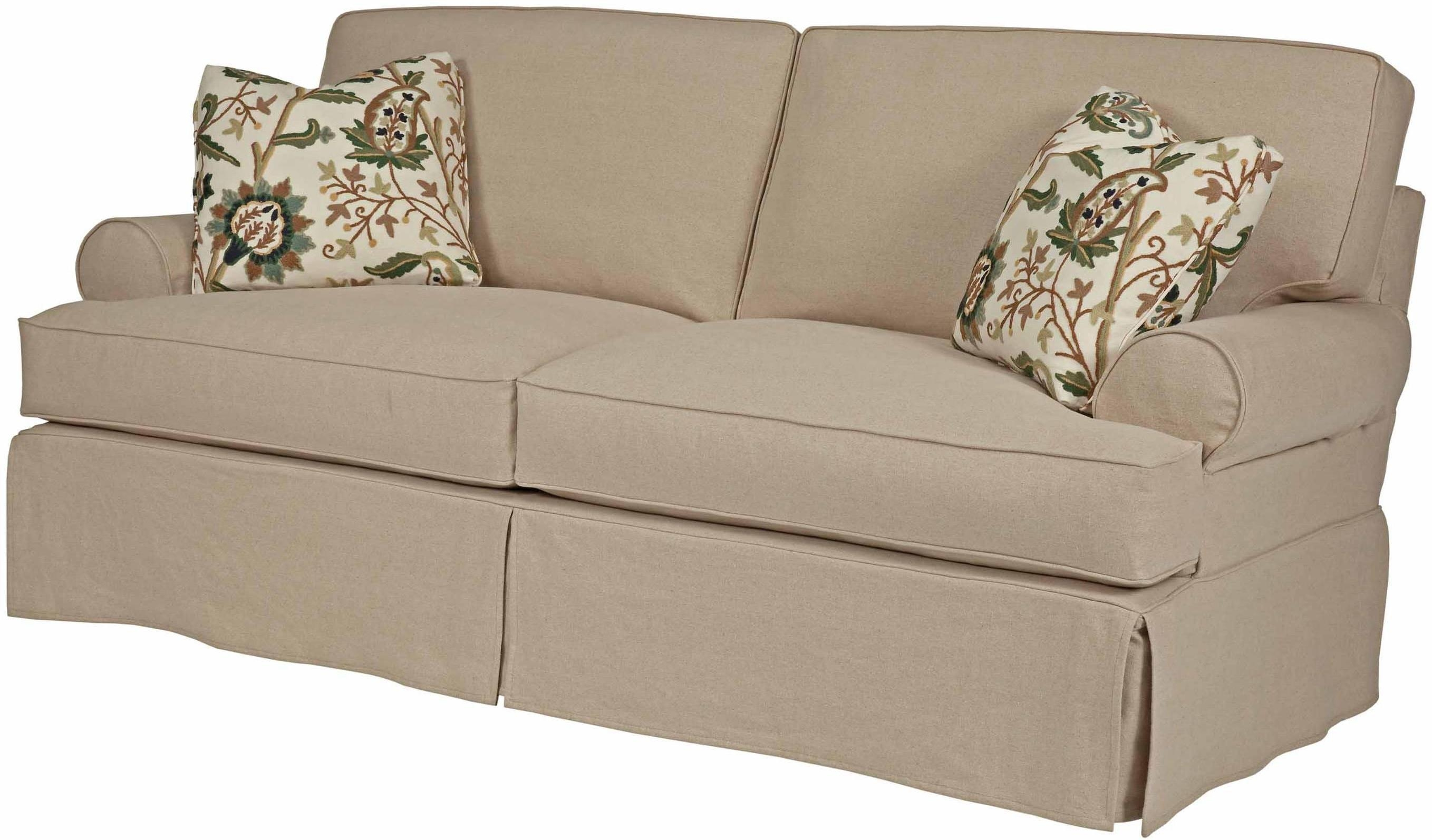 Furniture: Slipcovers For Couch | Sofa Cushion Covers | With Sofa Cushion Covers (Image 4 of 20)