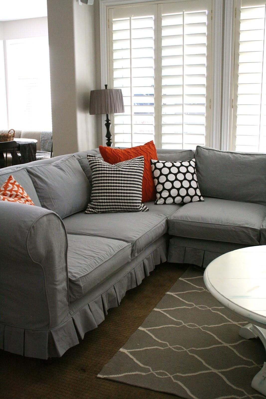 Furniture: Slipcovers For Sectional That Applicable To All Kinds Intended For Slipcovers For Sectional Sofas With Recliners (View 2 of 20)