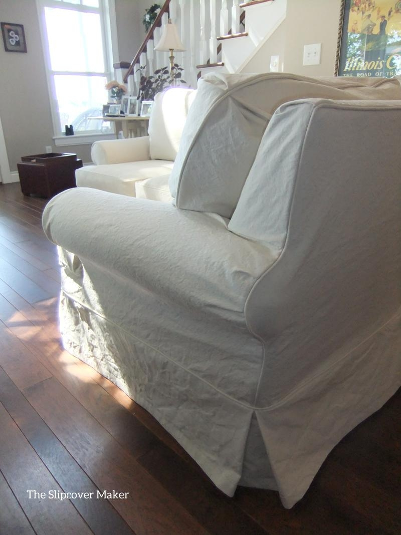 Furniture: Slipcovers For Sectional That Applicable To All Kinds Within Canvas Sofas Covers (Image 10 of 20)