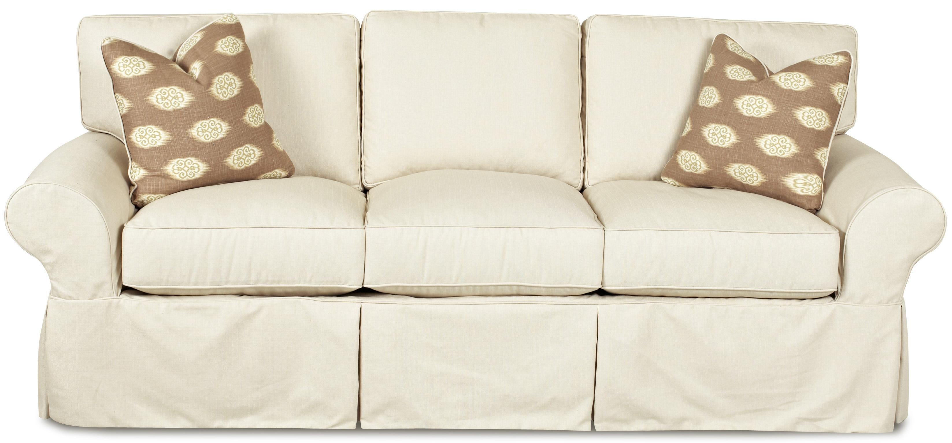 Furniture: Slipcovers For T Cushion Sofas | T Cushion Slipcovers Intended For Slipcovers For Sofas And Chairs (View 5 of 20)