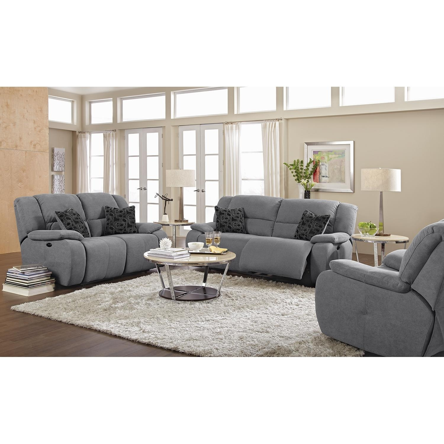 Furniture: Small Loveseat Sofa And Grey Loveseat For Grey Sofa Chairs (Image 9 of 20)