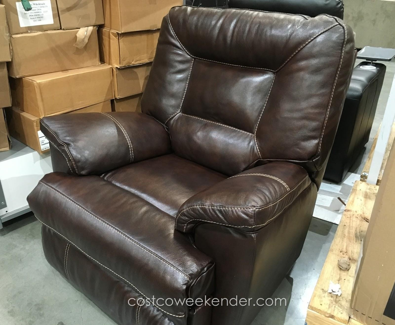 Furniture & Sofa: Enjoy Your Holiday With Costco Home Theater Intended For Berkline Leather Recliner Sofas (Image 5 of 20)