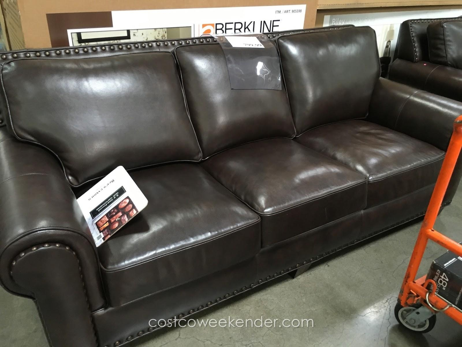 Furniture & Sofa: Enjoy Your Holiday With Costco Home Theater With Regard To Berkline Leather Sofas (View 6 of 20)