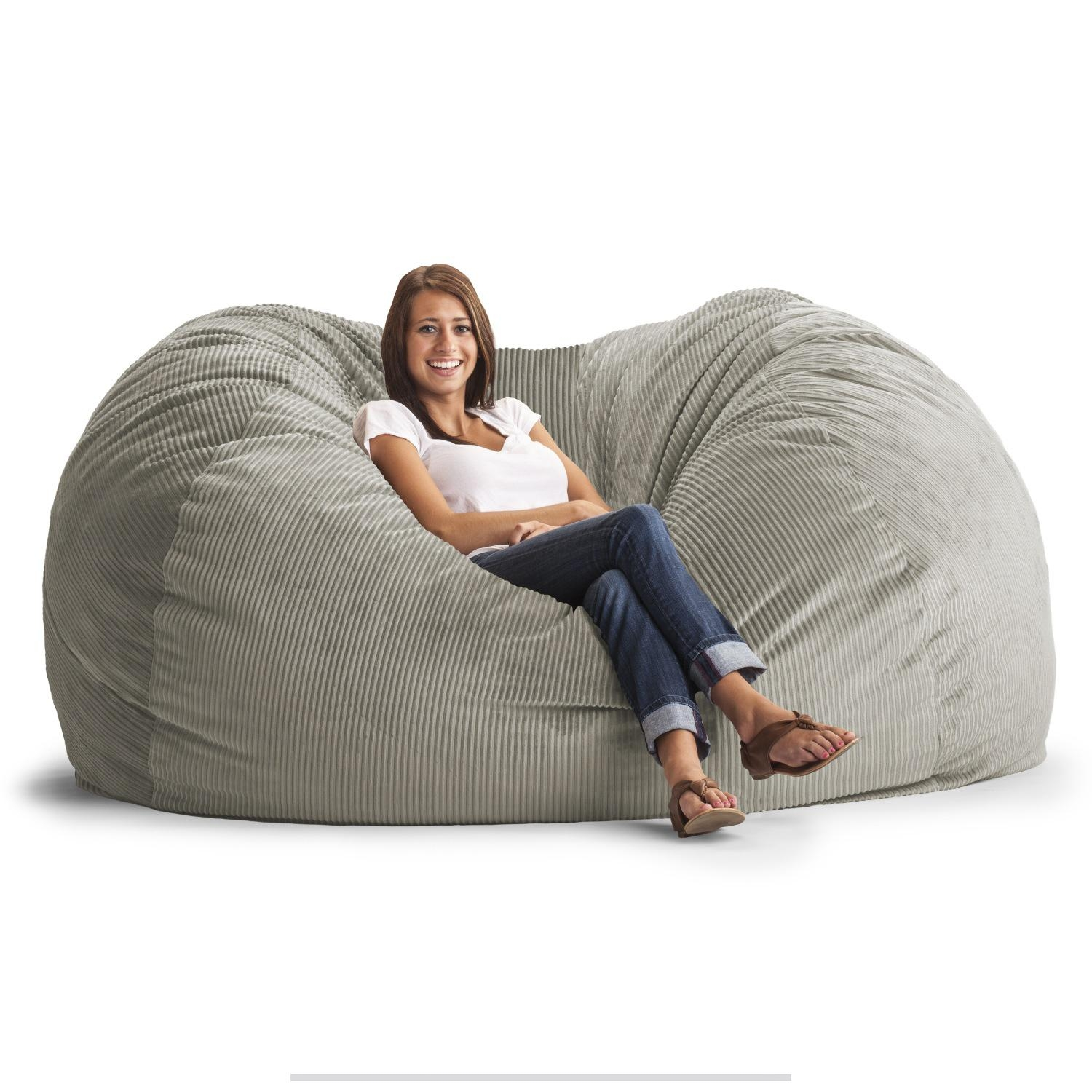 Furniture & Sofa: Fascinating Big Joe Lumin Bean Bag Chair With Inside Big Joe Sofas (Image 15 of 20)