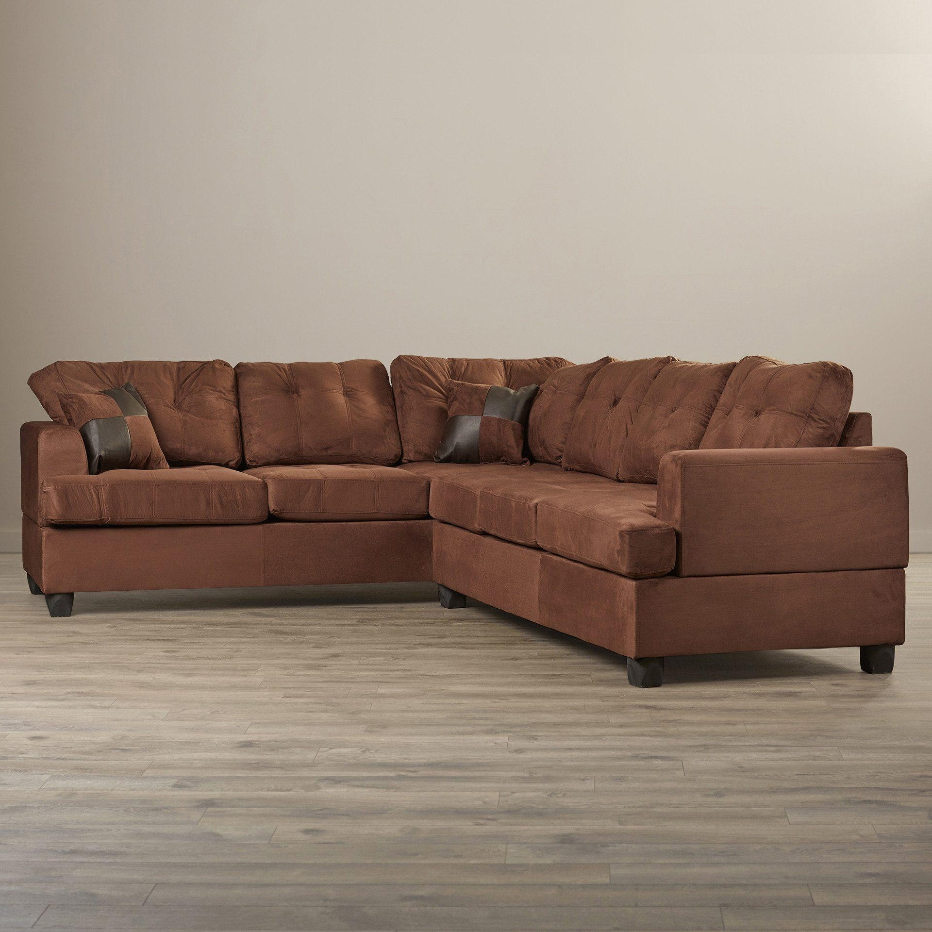 Furniture & Sofa: Perfect Small Spaces Configurable Sectional Sofa Pertaining To Mini Sectionals (Image 6 of 20)