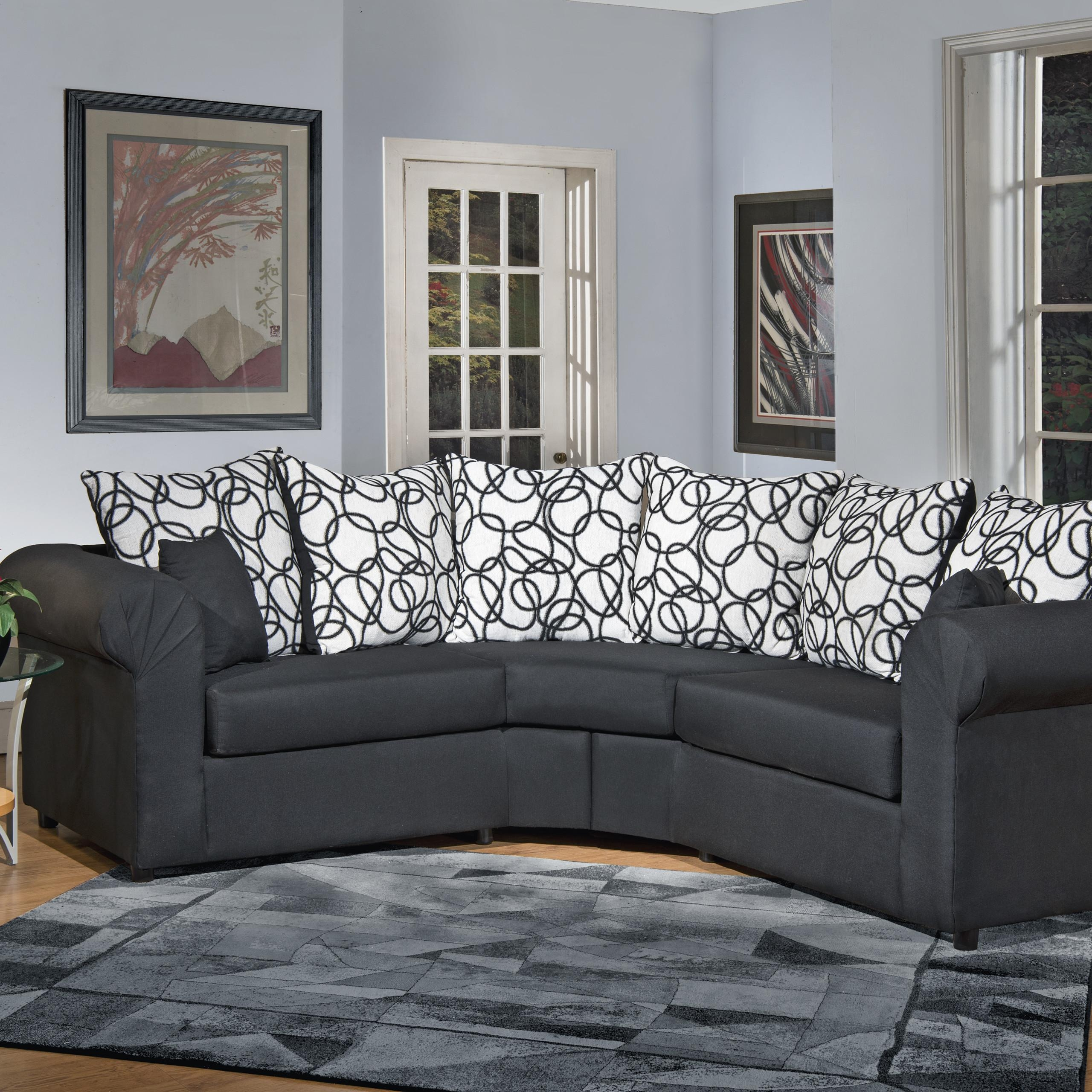 Furniture & Sofa: Perfect Small Spaces Configurable Sectional Sofa Regarding Inexpensive Sectional Sofas For Small Spaces (Image 5 of 20)