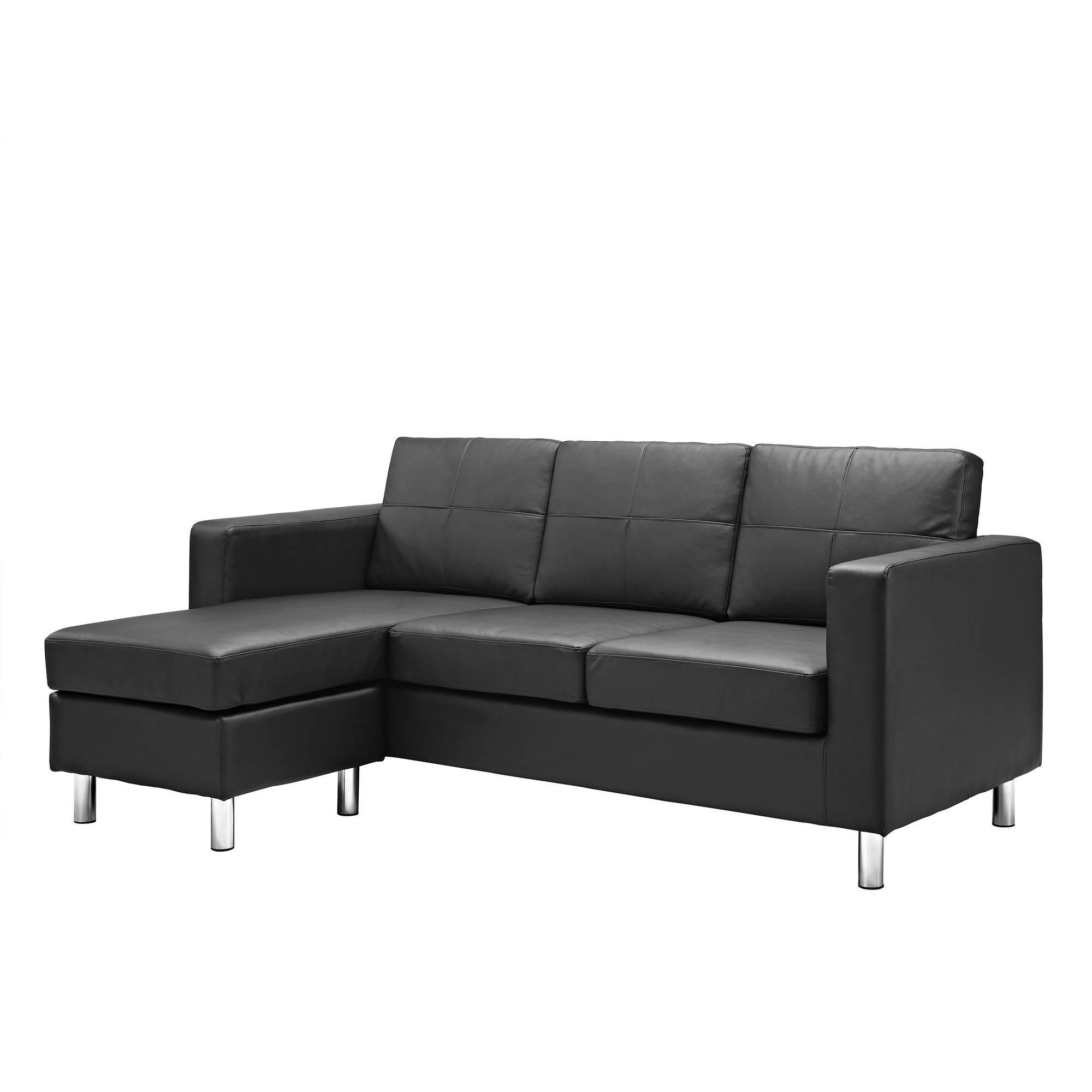 Furniture & Sofa: Perfect Small Spaces Configurable Sectional Sofa Regarding Short Sectional Sofas (Image 5 of 20)