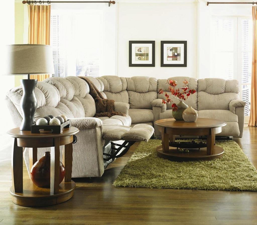 Furniture: Sofa Sleeper Sectional | Reclining Sectional Sofas Inside Lazyboy Sectional Sofa (Image 10 of 20)