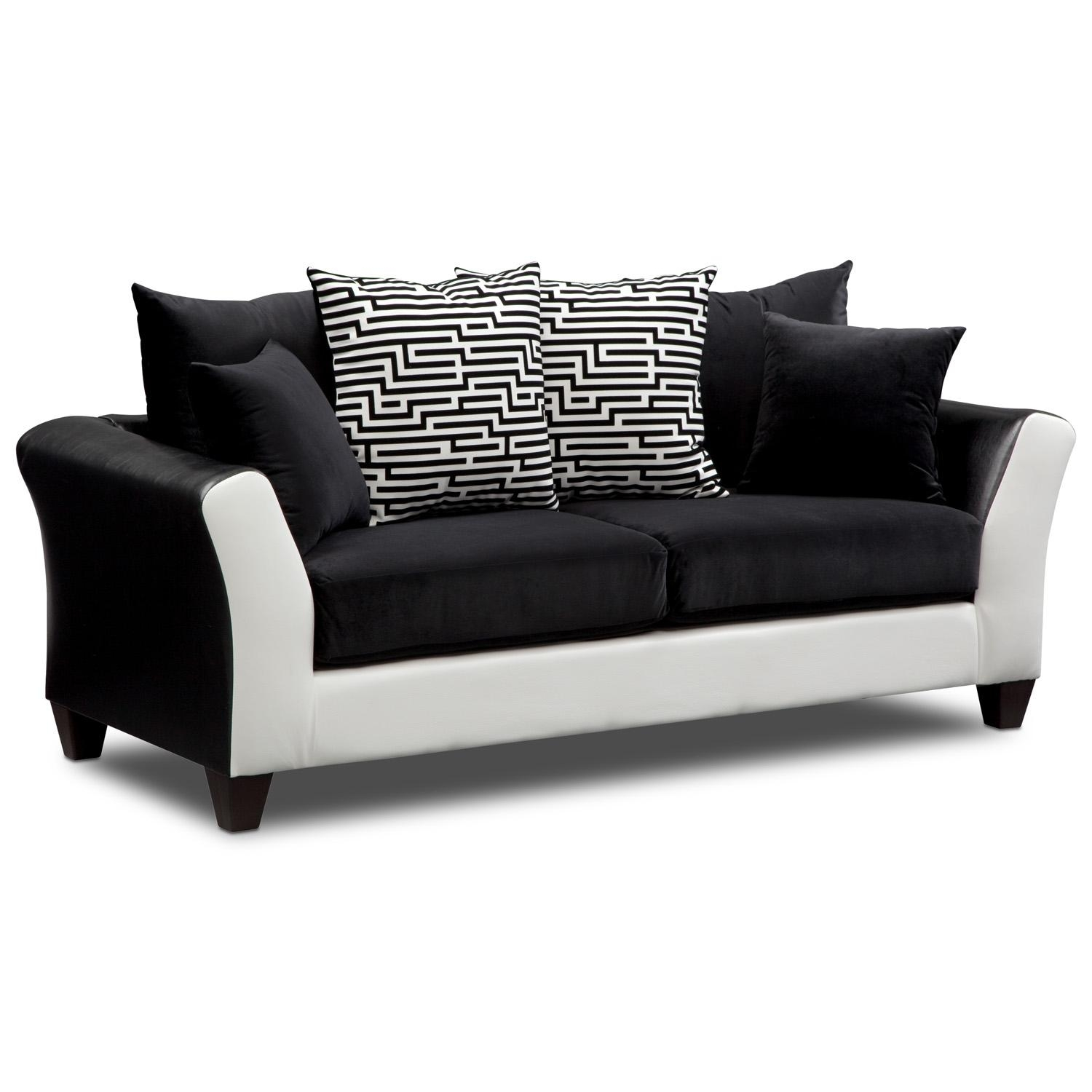 Furniture: Sofas And Sectionals | Sectional Sofa With Recliner For Value City Sofas (Image 5 of 20)