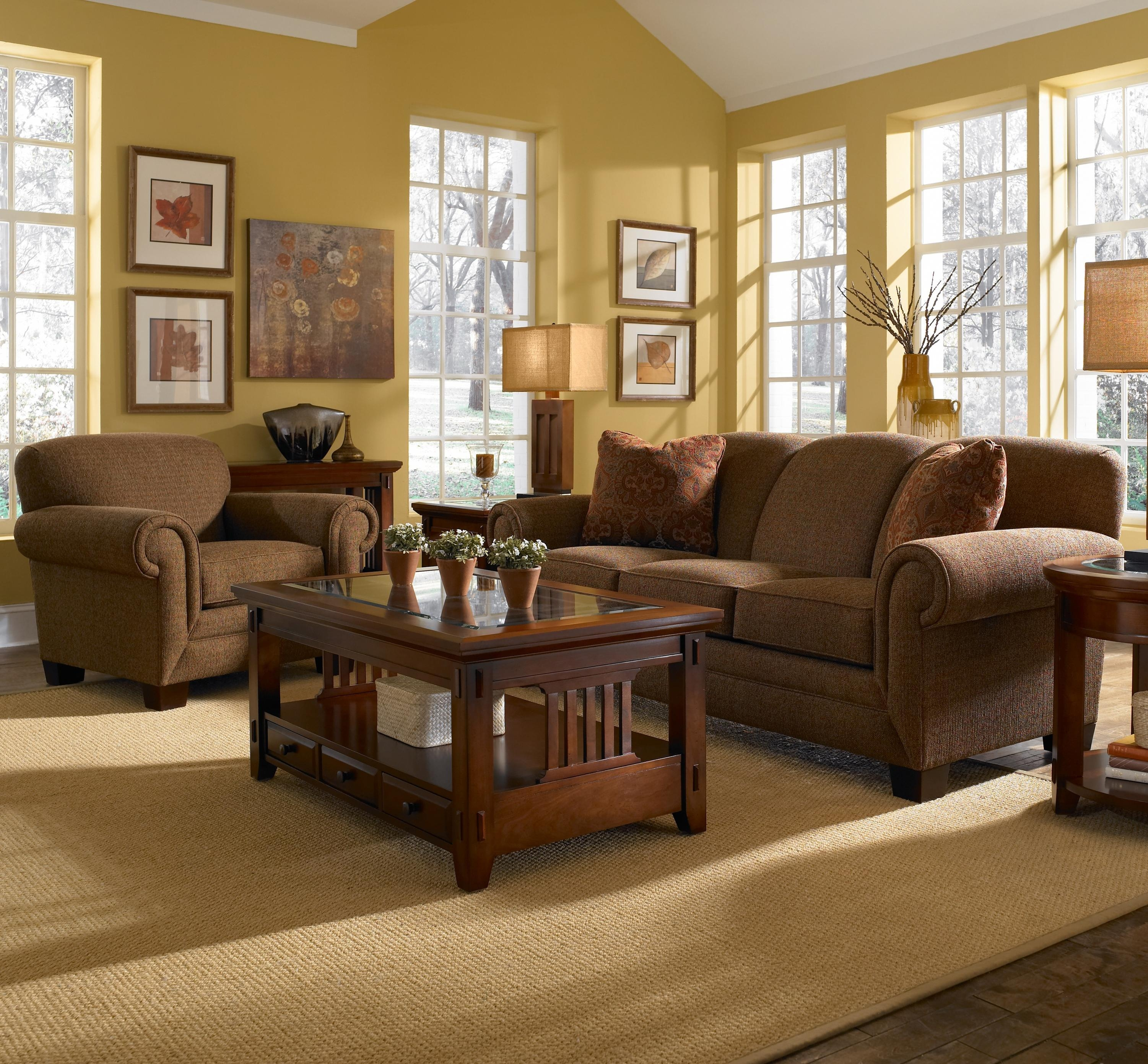 Furniture: Stunning Broyhill Sofas For Enchanting Living Room Pertaining To Broyhill Mckinney Sofas (Image 18 of 20)