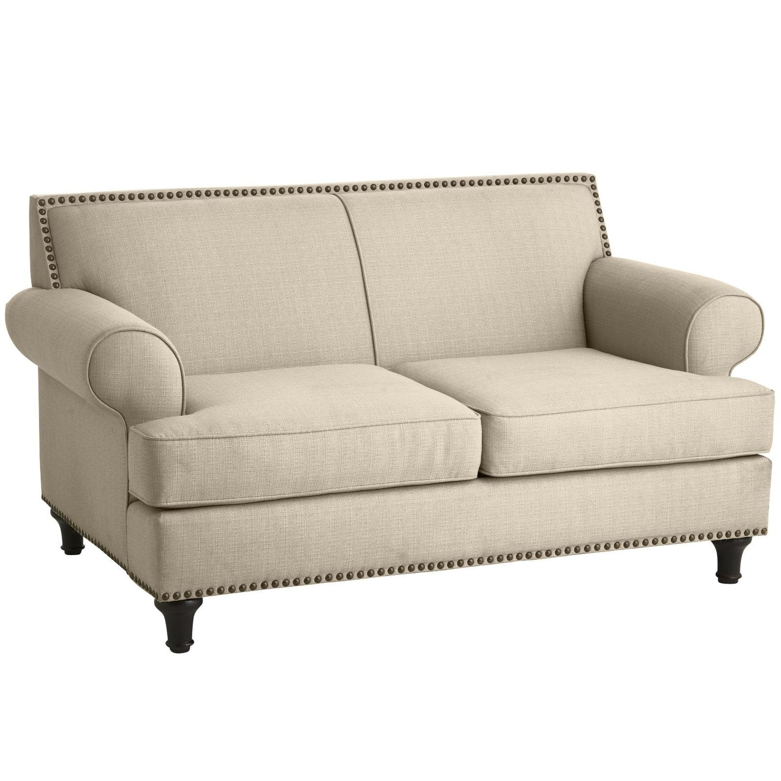 Furniture: Stunning Pier One Loveseat For Perfect Living Room within Pier 1 Sofa Beds