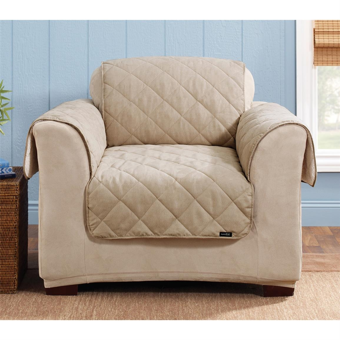 Furniture: Sure Fit Couch Covers | Sure Fit Sofa Slipcovers | Sure For Sofa Armchair Covers (View 11 of 20)