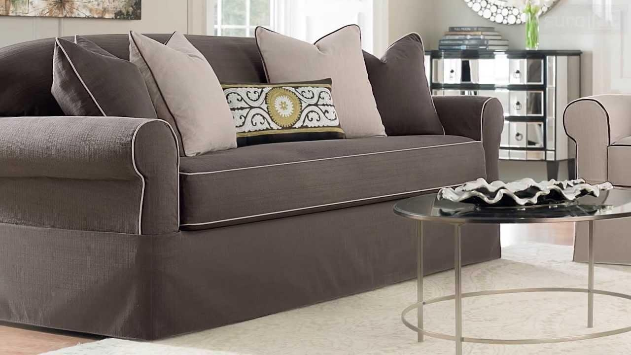 Furniture: Sure Fit Couch Covers | Sure Fit Sofa Slipcovers | Sure Within Covers For Sofas (Image 13 of 20)