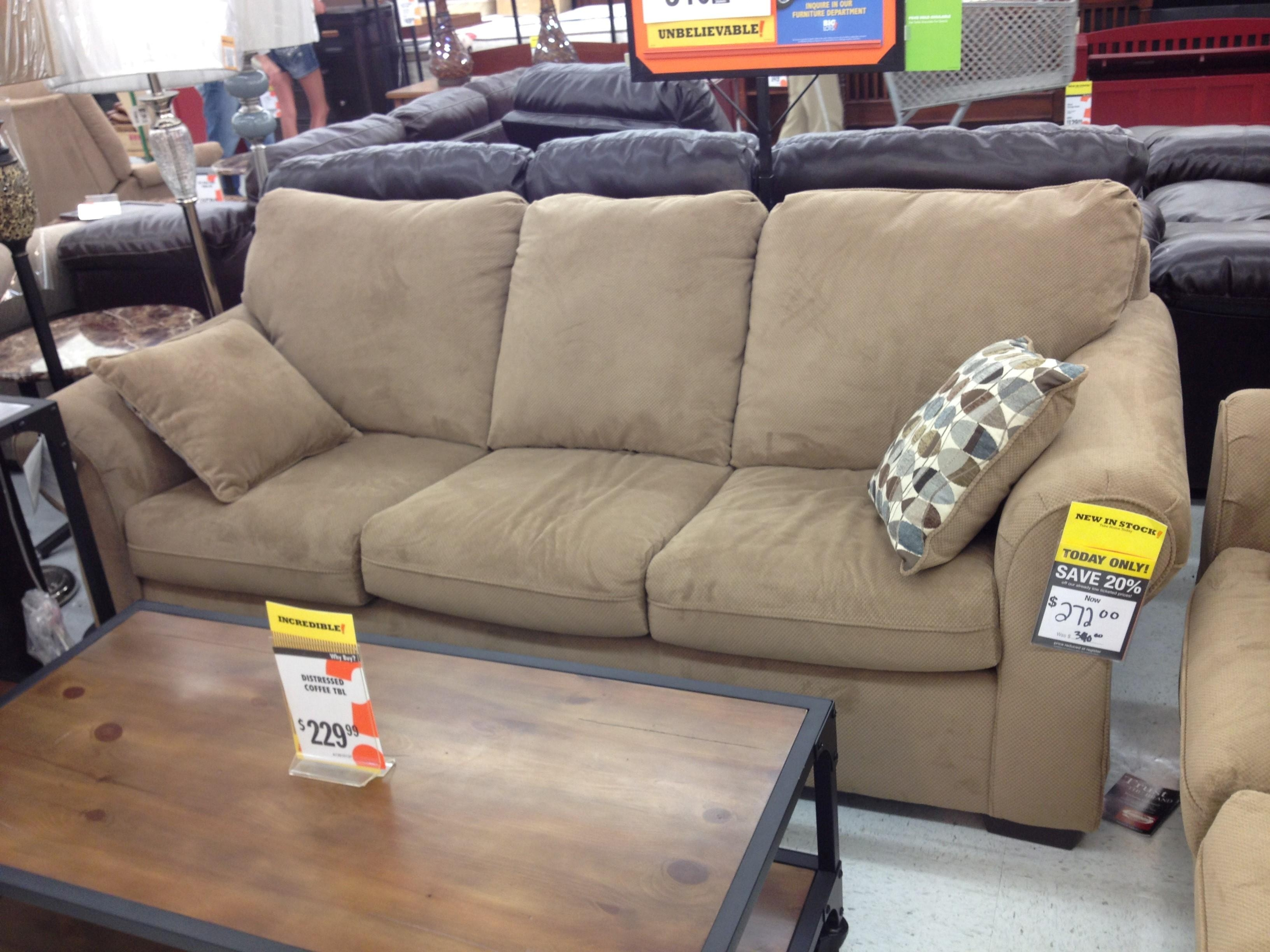 Furniture: Unique And Functional Furniture With Big Lots Sleeper Intended For Big Lots Sofas (View 1 of 20)