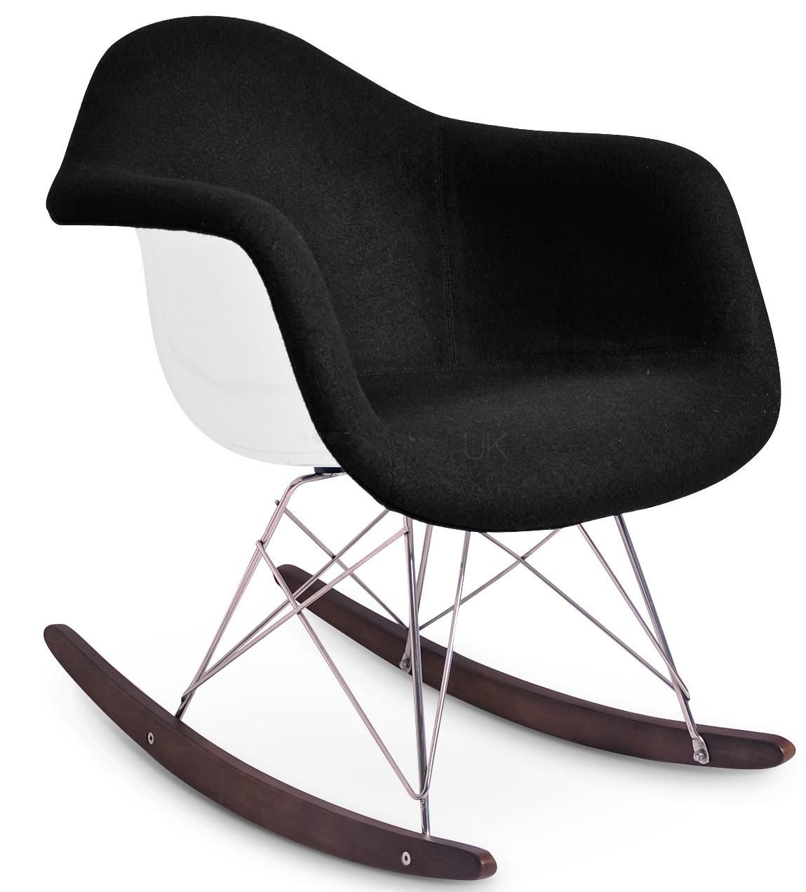 Furniture: Upholstered Rocking Chair | Armchair Rocking Chair Intended For Sofa Rocking Chairs (Image 5 of 20)