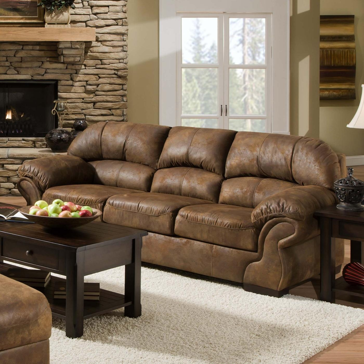 Furniture: Using Comfy Simmons Sleeper Sofa For Home Furniture Inside Simmons Sleeper Sofas (Image 5 of 20)