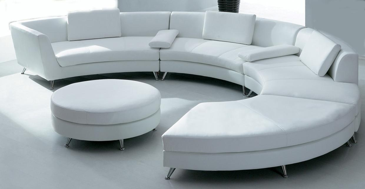 Furniture: Wayfair Sofa | Round Couches | Modular Sofas Within Circle Sofas (Image 11 of 20)