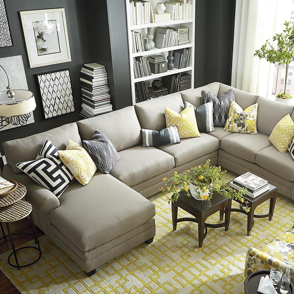 Furniture: West Elm Sofa Cover | Tillary Sofa | West Elm Sectional With Regard To West Elm Sectionals (Image 14 of 20)