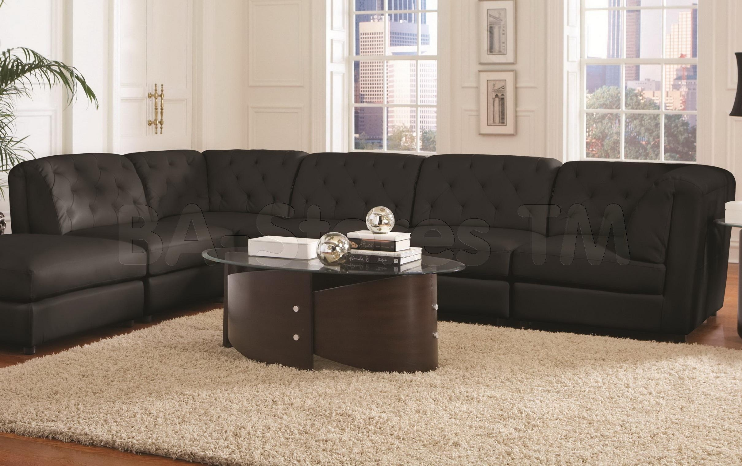 Furniture: Winsome Arcana Sectional Couches Cheap For Exqusite With Cheap Black Sofas (Photo 8 of 20)