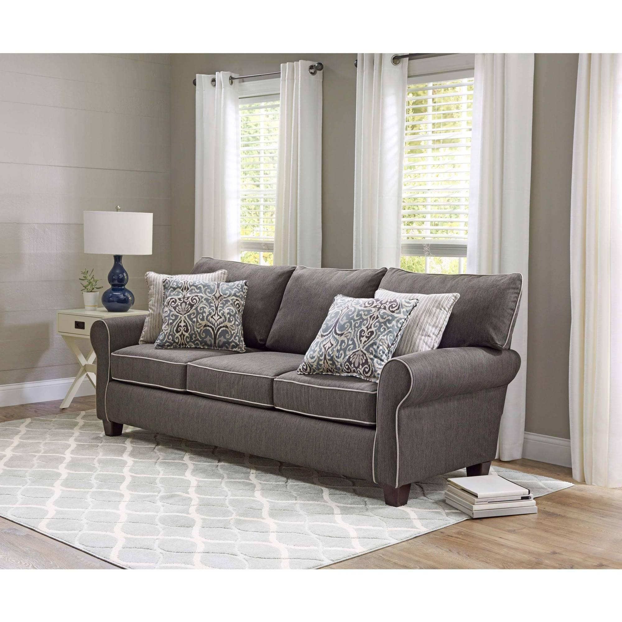 Furniture: Wonderful Walmart Couch Covers Design For Alluring Within 3 Piece Sectional Sofa Slipcovers (View 12 of 20)