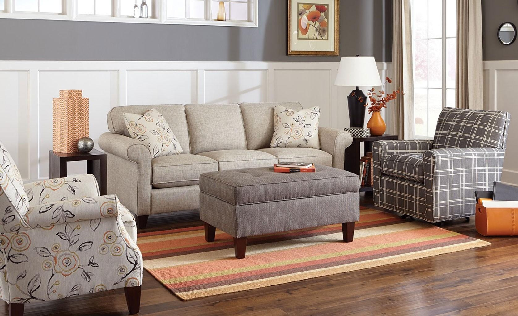 Furnitures: Craftsman Style Upholstery Fabric | Craftmaster Pertaining To Craftmaster Sectional (View 13 of 15)