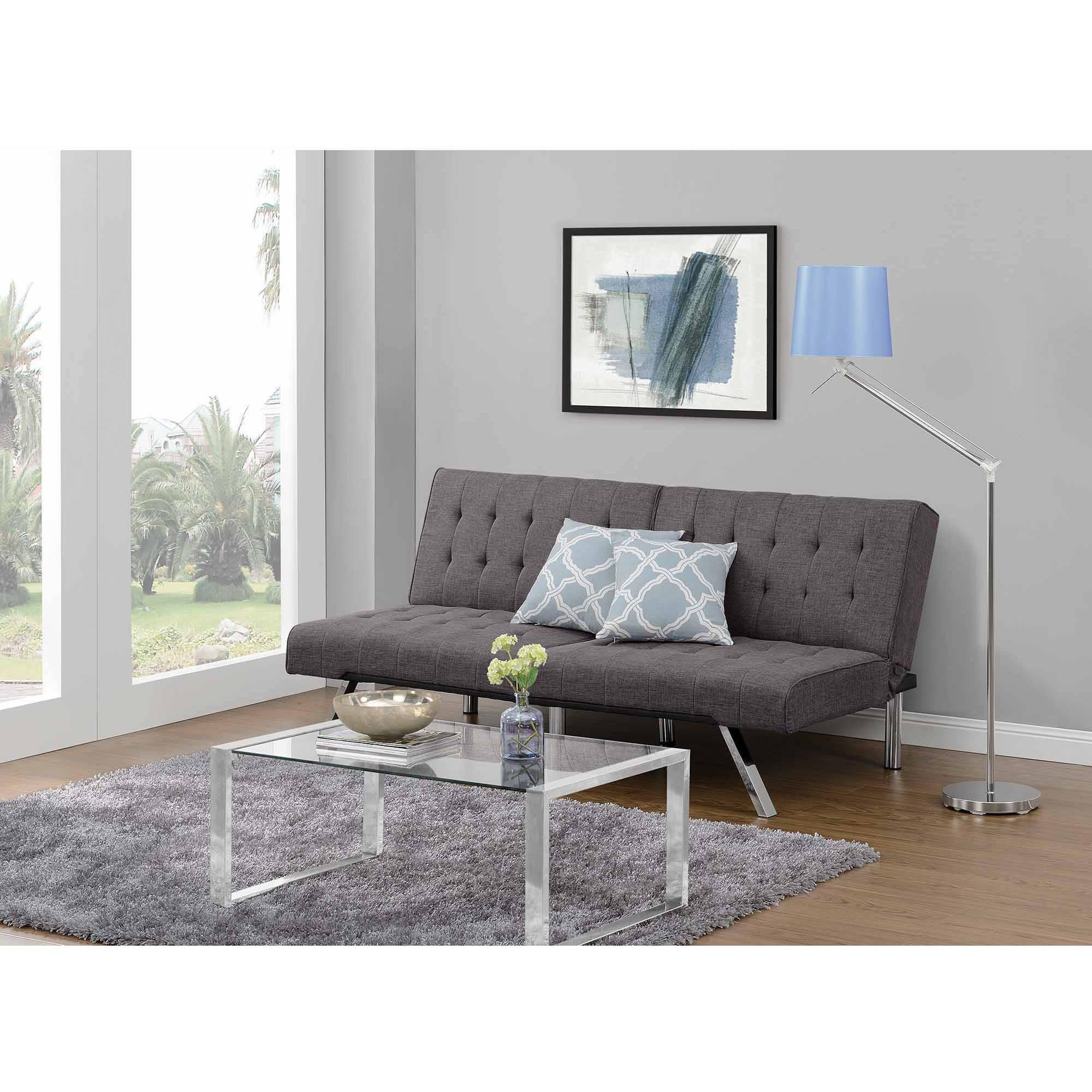 Futons, Futon Beds, Sofa Beds – Walmart With Regard To Bedroom Sofas And Chairs (Image 16 of 20)