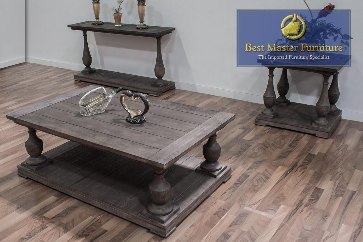 Fw138 Coffee, End, And Sofa Table | Best Master Furniture Within Sofa Table Chairs (Image 7 of 20)