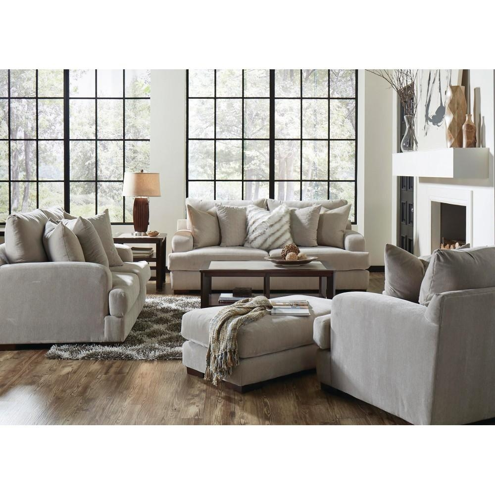 Gabrielle Living Room – Sofa & Loveseat – Cream (334603) : Living For Living Room Sofas (View 14 of 20)