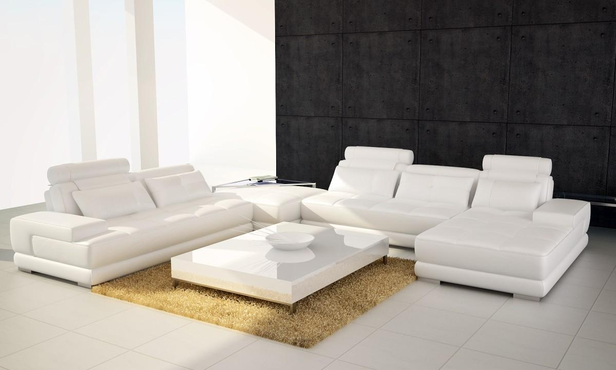 Gathering Leather Sectional Sofa For Modern Microfiber Sectional Sofa (Image 13 of 20)