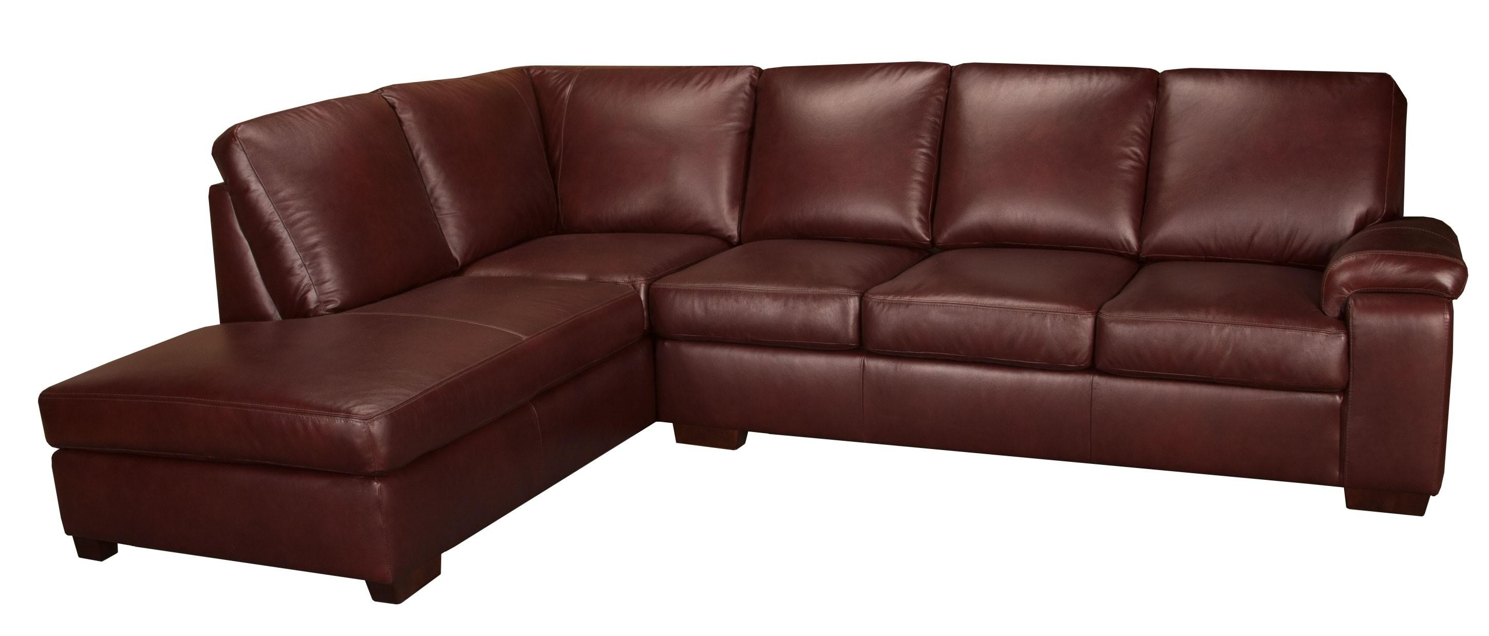 Genuine Leather Sectionals In Toronto & Mississauga | Living With Leather Sectional Sofas Toronto (View 4 of 20)