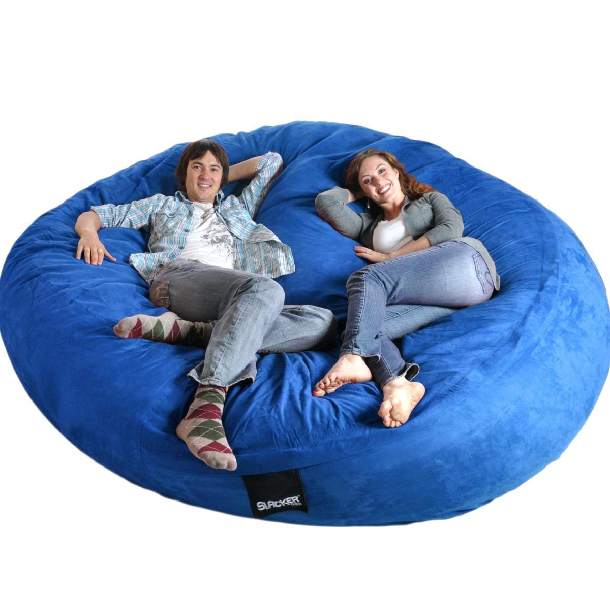 Giant Bean Bag Bed | Design Your Life Throughout Bean Bag Sofas And Chairs (Image 10 of 20)