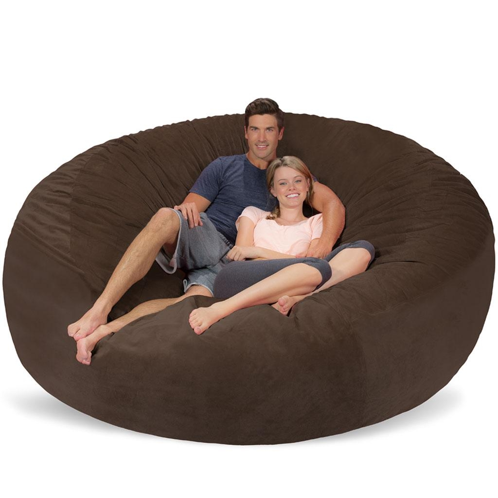 Giant Bean Bag – Huge Bean Bag Chair – Extra Large Bean Bag Intended For Giant Bean Bag Chairs (View 4 of 20)