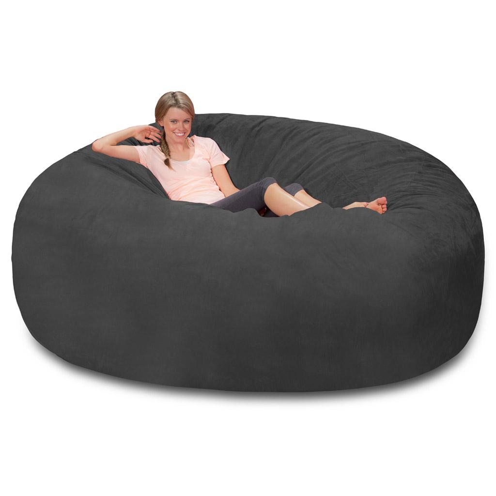 Giant Bean Bag – Huge Bean Bag Chair – Extra Large Bean Bag With Regard To Giant Bean Bag Chairs (View 10 of 20)
