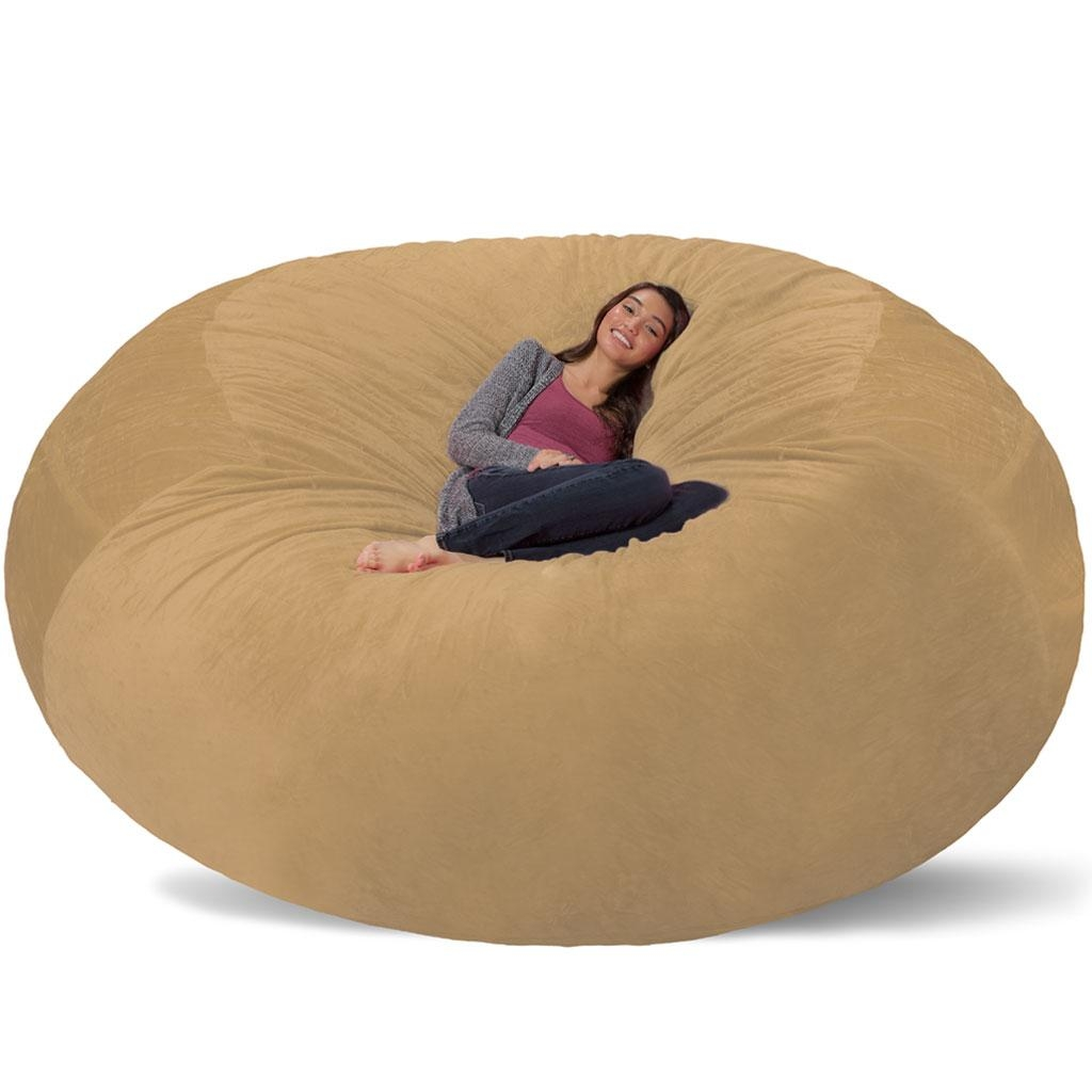 Giant Bean Bag - Huge Bean Bag Chair - Extra Large Bean Bag with regard to Giant Bean Bag Chairs