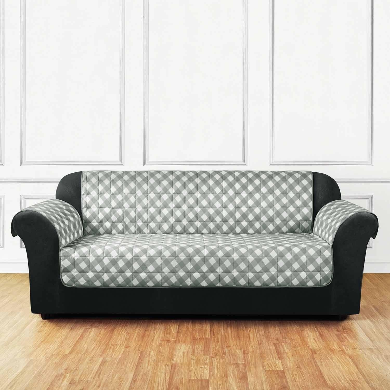 Gingham Sofa With Concept Photo 22417 | Kengire With Gingham Sofas (Image 14 of 20)