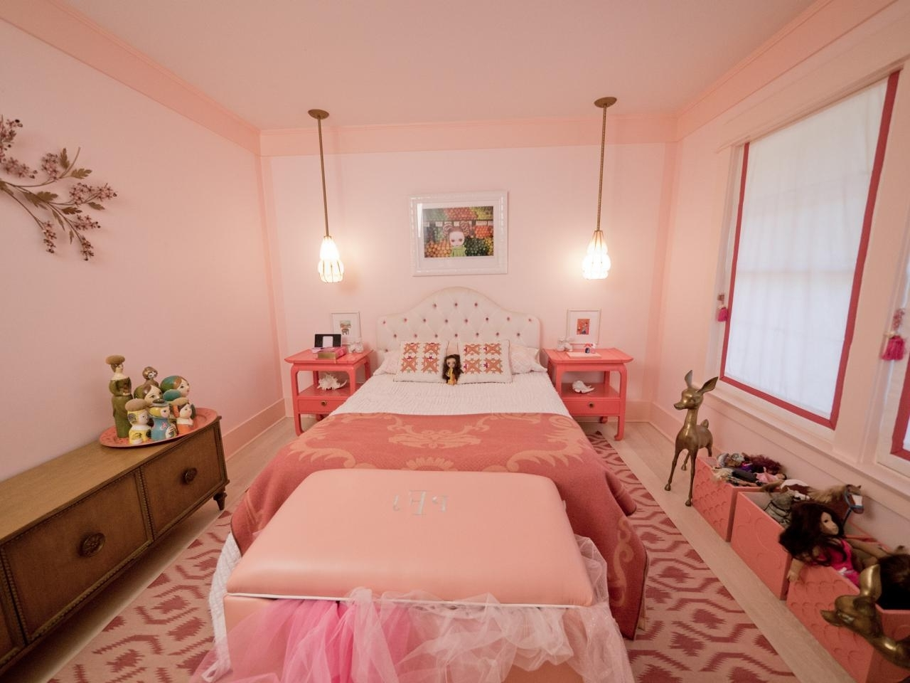 Girls' Bedroom Color Schemes: Pictures, Options & Ideas | Hgtv Pertaining To How To Decorate A Girls Room (View 5 of 24)