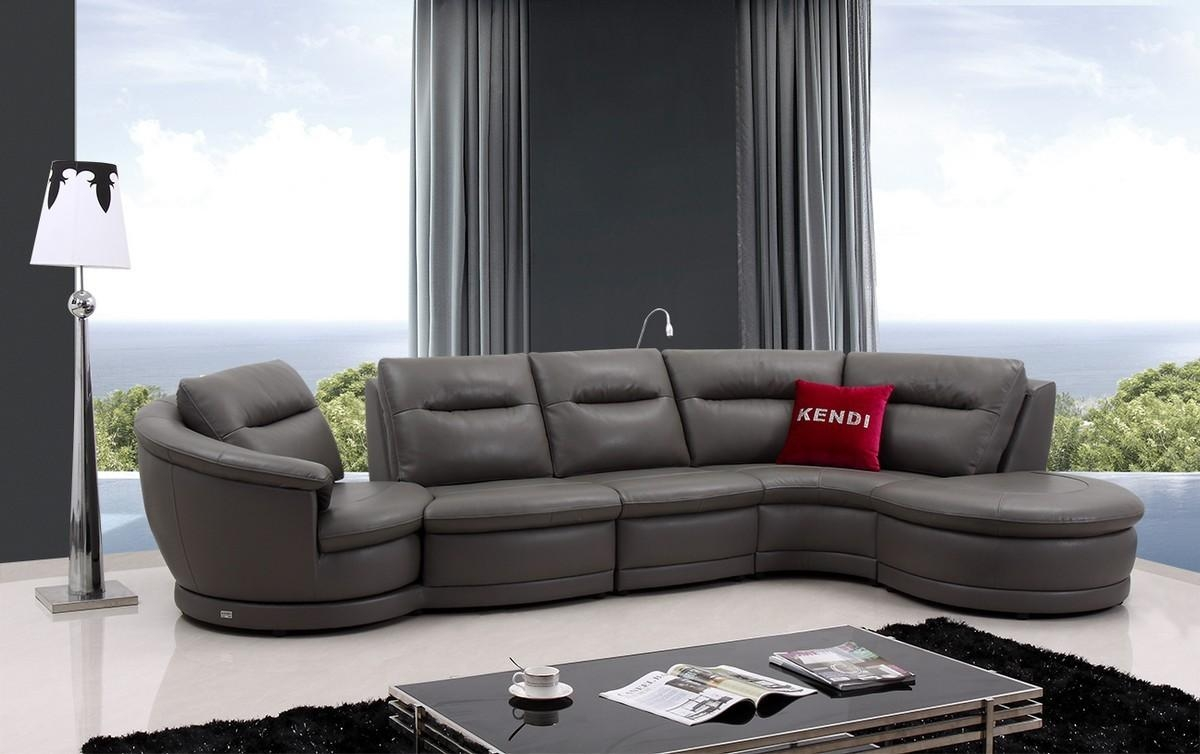 Glamorous Grey Leather Couches Seat & Chairs Grey Leather Couch For Charcoal Grey Leather Sofas (View 12 of 20)