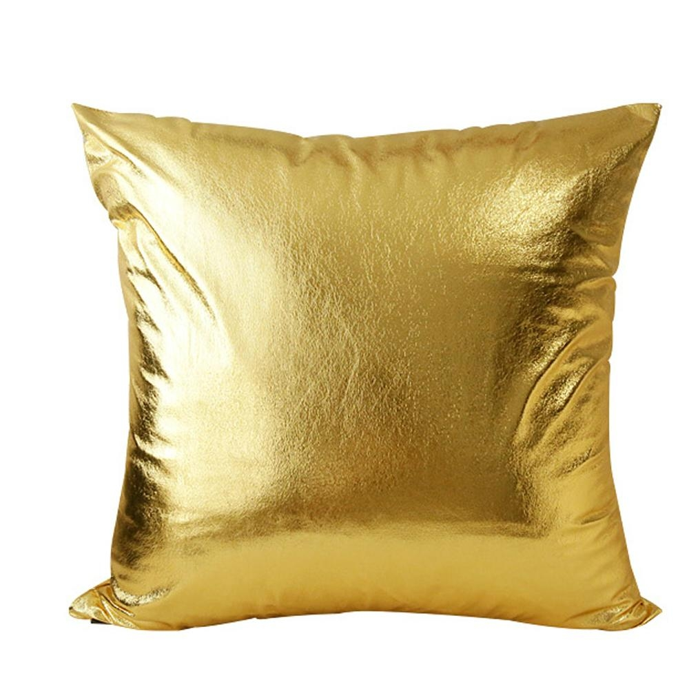 Gold Sofa Pillows With Ideas Photo 29101 | Kengire With Regard To Gold Sofa Pillows (Image 11 of 20)