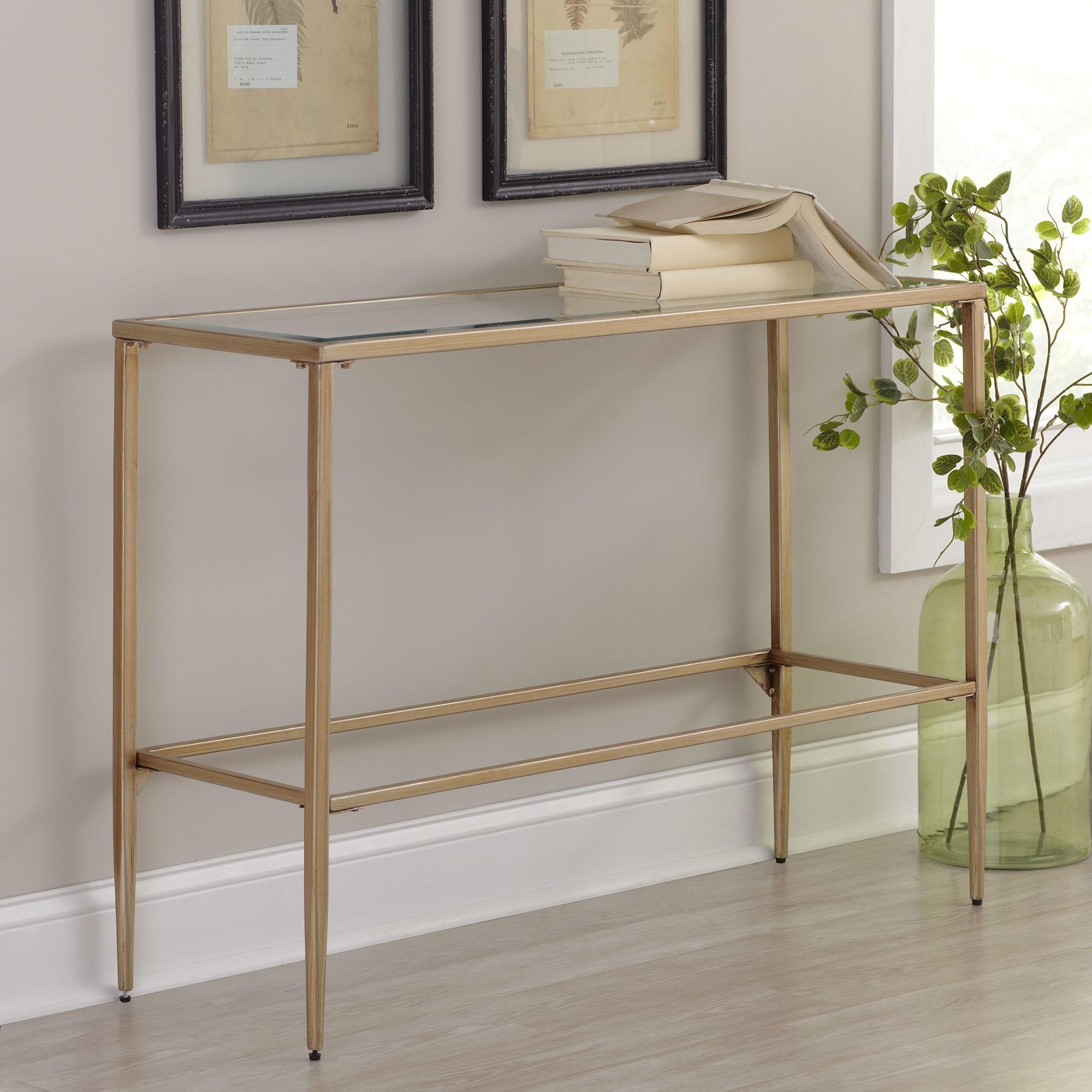 Gold Sofa Table With Design Image 8673 | Kengire Intended For Gold Sofa Tables (View 4 of 20)