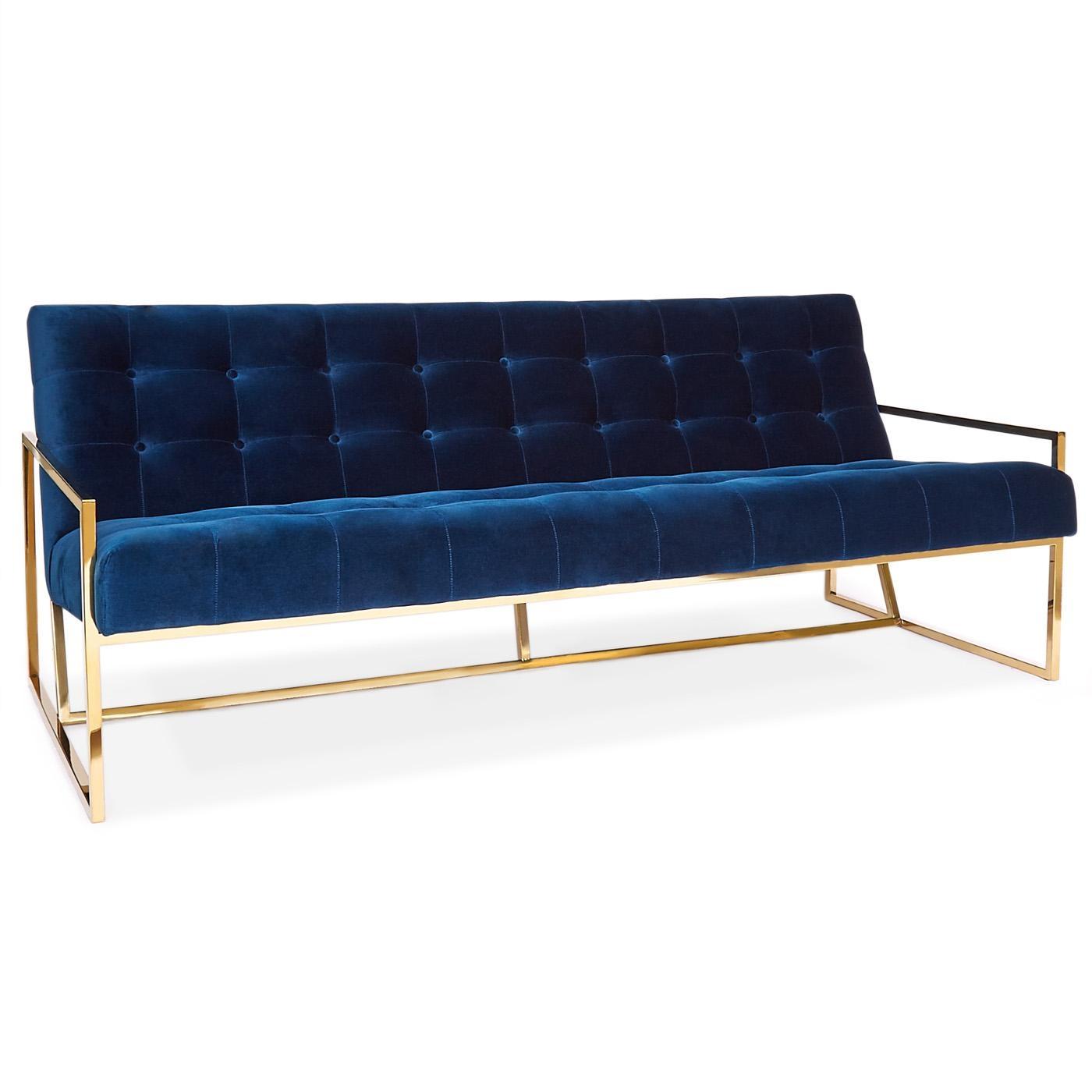Goldfinger Apartment Sofa | Modern Furniture | Jonathan Adler In Jonathan Sofa (Image 6 of 20)