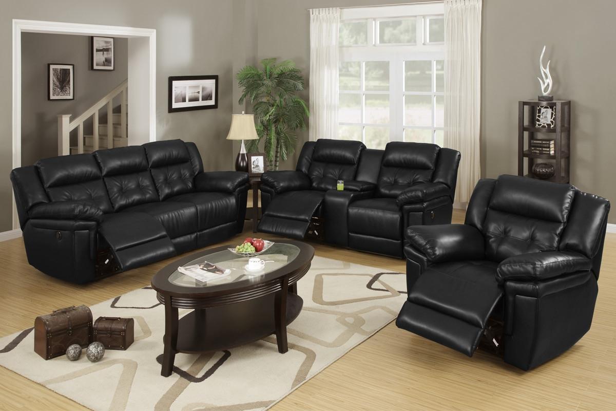 Gorgeous Design Black Sofas Living Room Design Nice Decoration 20 Intended For Black Sofas Decors (Image 15 of 20)