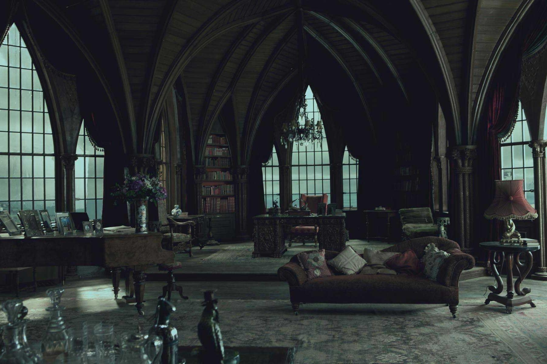 Gothic Style Furniture With Regard To Gothic Sofas (Image 16 of 20)
