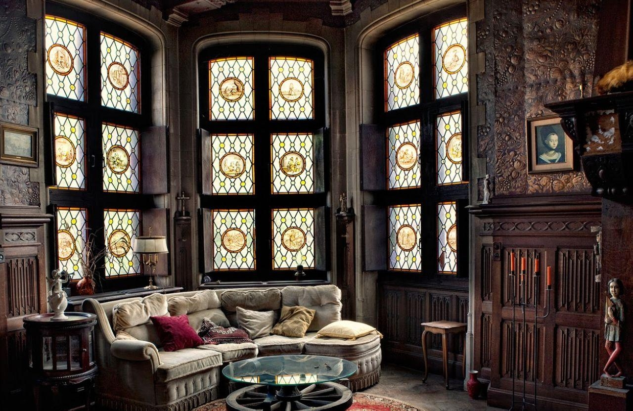 Gothic Style Interior Design Ideas For Gothic Sofas (Image 17 of 20)