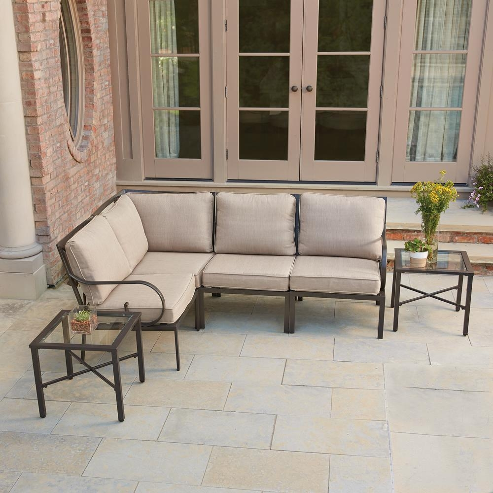 Granbury – Patio Conversation Sets – Outdoor Lounge Furniture Inside Conversation Sectional (Image 3 of 15)