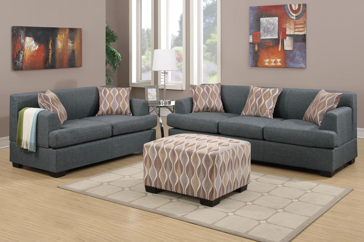 Gray Couch Living Room Sets Jitterbug Gray Sofa And Loveseat Inside Gray Sofas (Image 5 of 20)